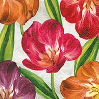 Full Pack - Napkins for Decoupage / Tea Parties / Weddings - Tulips