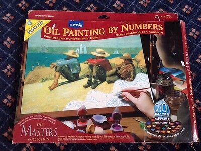 Reeves Masters Collection Oil Painting By Numbers Set Unused