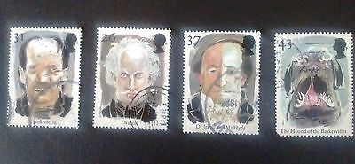 GB Used set of Europa stamps 1997 Tales and Legends inc Dracula Frankenstein