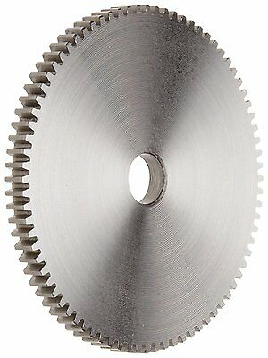 Boston Gear S2472 Spur Gear, 14.5 Pressure Angle, Steel, Inch, 24 Pitch, 0.500""