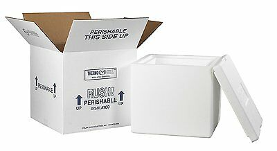 "Aviditi 230C Insulated Shipping Containers, 12""L x 12""W x 11 1/2""D"