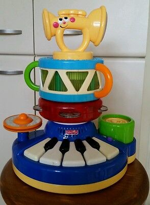 Fisher Price Dance Baby Dance! Buildin' Band Music Musical Instruments