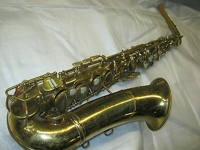 1939 CONN PAN AMERICAN ALT / ALTO SAX / SAXOFON -- made in USA