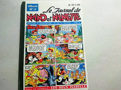 Le Journal De Nano Et Nanette  Album N° 12   1961