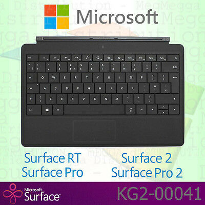 OFFICIAL Microsoft Surface RT / Pro / 2 *TYPE* Cover GB English BACKLIT Keyboard