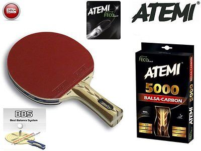 Atemi 5000 EcoLine Table Tennis bat. Professional level ping pong racket