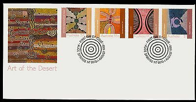 Australia 1988 First Day Cover FDC - Art of the Desert