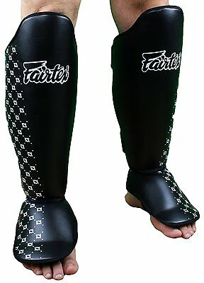 Fairtex Shin Guards Pads SP5 Muay Thai Kick Boxing MMA Sparring AUS STOCK