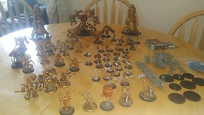 *** Massive Convergence of cyriss Army + Colossal +Battle Engines +2 KR cases***