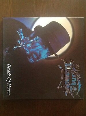 "KING DIAMOND ""Decade of horror"" 4 picture discs in limited boxset"