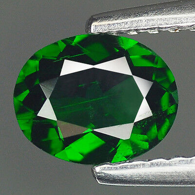0.56Cts SUPREME GEM - NATURAL HI-END LUSTER CHROME GREEN TSAVORITE GARNET #LG04