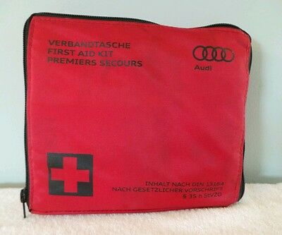 Genuine Audi First Aid Kit Audi In Car First Aid Kit
