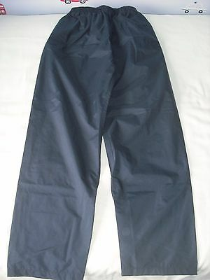 Peter storm boys navy blue waterproof cover trousers 11-12 years