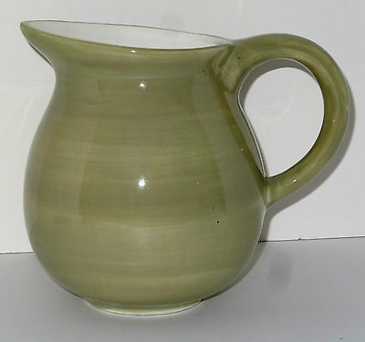 Togo Pitcher Green 8 Inches Tall