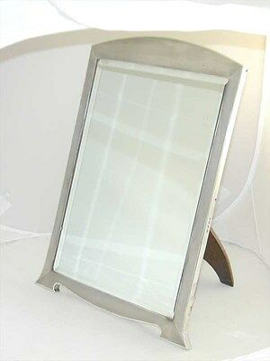 Art Deco Large Dressing Table Mirror Sterling Silver Mappin & Webb 1937