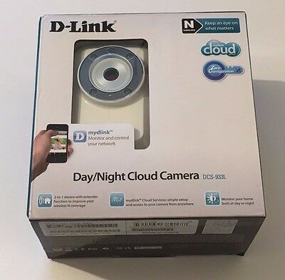 D-Link Day/night Cloud Security Camera Dcs-933L.access Your Camera From Anywhere
