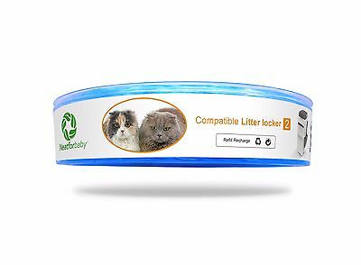 Neatforbaby Litterlocker II Compatible cat kitten litter disposal Refill × 1