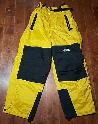 The North Face Ski Snow Expedition Gore-Tex Pants Yellow Sz Small A577