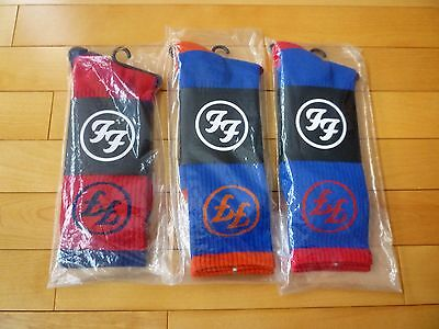 2015 Foo Fighters Tour Commemorative Socks - Citi & Wrigley Field & Fenway Park