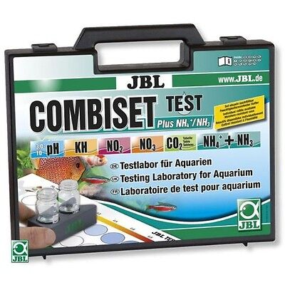 Valises de tests aquarium combiset plus NH4 JBL