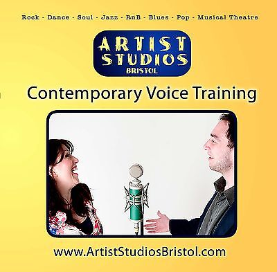 Teach yourself Singing with Contemporary Voice Training CD from Artist Studios.