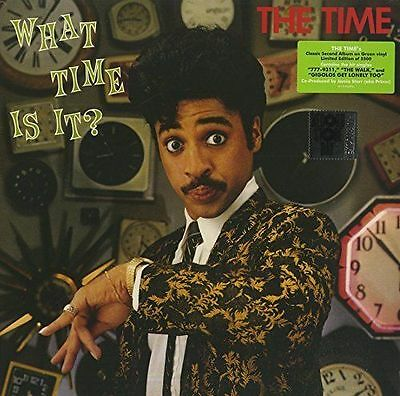 The Time - What Time Is It? NEW GREEN VINYL LP (RSD 2017) A PRINCE PRODUCTION