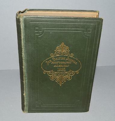 Vintage Book -   The British Journal Photographic Almanac For 1925.