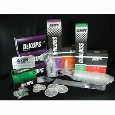 DeVilbiss DPC-650 DeKups Disposable Cup System Shop Starter Kit 802371