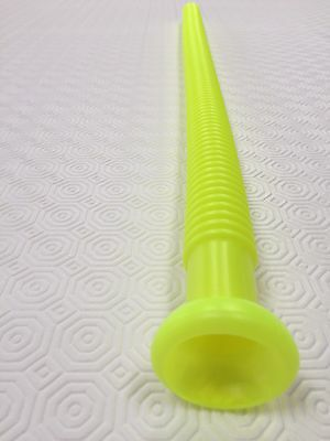 One Yellow - Plastic Whirly Tube Sound Hose Instrument Science Toy