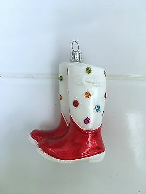 Nordstrom Exclusive Snow Boots Christmas Ornament