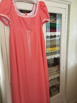 Traditional Style Jane Austen Dress Size 12