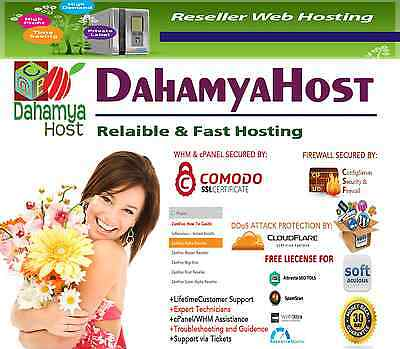 Life Time! UNLIMITED Alpha Master Reseller Hosting+ WHMCS +Trendy B+474 WEB Temp