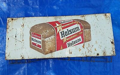 ☆ Holsum Bread Cotton General Store Bag Display Metal Sign Old Louisiana Bakery