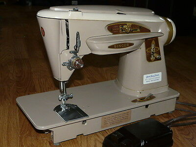 Gorgeous Vintage Singer Model 503J Sewing Machine with Foot Speed Controler