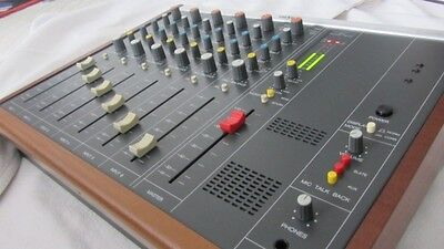 ReVox C279 mixing desk, Mischpult, Audiomischpult Top REVIDIERT