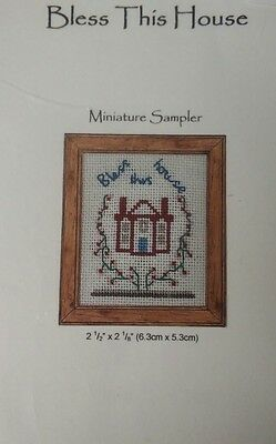 1/12th Scale Miniature Sampler, Bless This House Kit