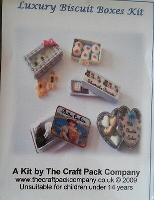 1/12th Scale Luxury Biscuit Boxes Craft Kit