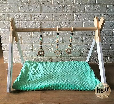 Handmade Wooden Baby Gym/ Play Gym/ Baby Center