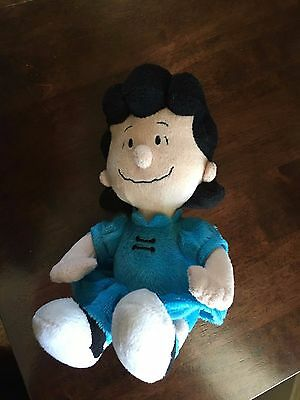 """METLIFE Plush LUCY from Peanuts 8.5"""" Promo Item - Excellent Condition HTF"""