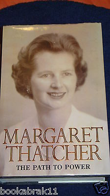 The Path to Power by Margaret Thatcher (Hardback, 1995) SIGNED   VGC 1st / 1995