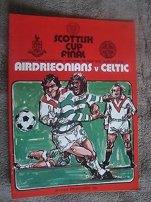 1975 Scottish Cup Final - Airdrieonians V Celtic