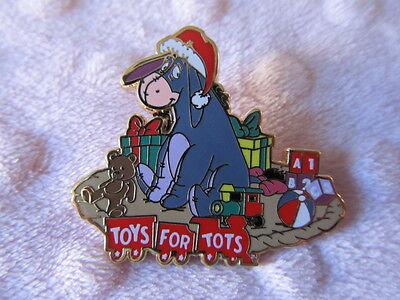 Disney Pin - DSF - Toys for Tots - 2013 - Eeyore - LE500 New