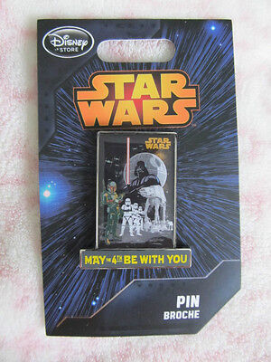 Disney Pin - Disney Store - Star Wars May the 4th Be With You - New