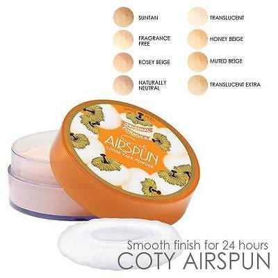 COTY Airspun Loose Face  Powder, Setting Powder - Assorted Shades
