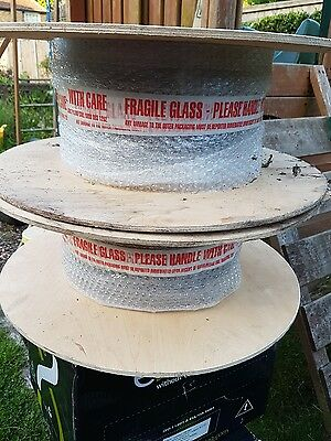 fibre optic cable 2 x 100m drums
