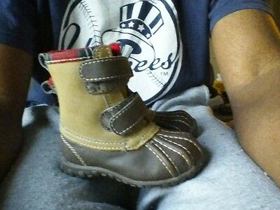 3 baby gap size 5c winter boots & camo pants size 3y life & legend carters gray