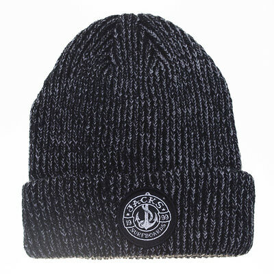 Jacks Tods Abyss Cuffed Beanie in Grey