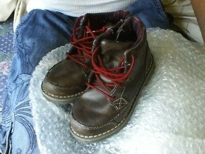 2 cherokee brown & a WINTER BOOTS size 9c & 10C