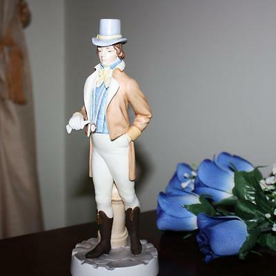 Royal Worcester UK Figurine REGENCY GENTLEMAN - THE HADLEY COLLECTION. RARE!