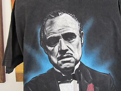 Hip Hop T-Shirt Strictly Business The Godfather 2XL Tall Old School Rap Tear